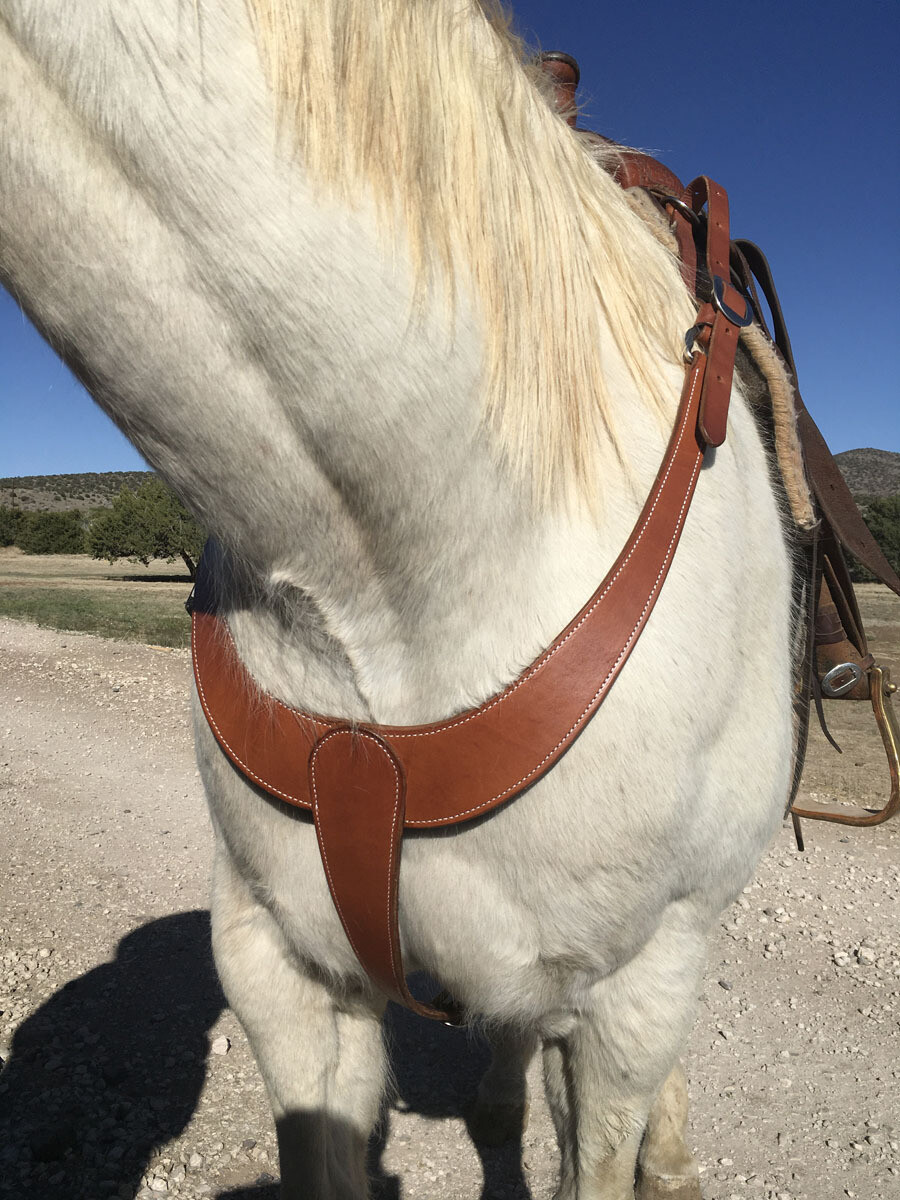 Plain Solid Martingale Breast Collar