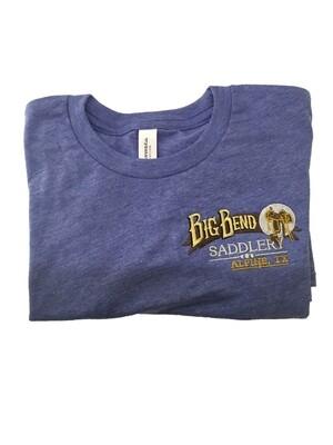Kids Blue Triblend Tshirt