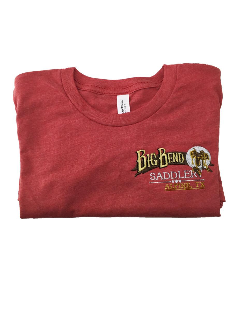 Kids Red Triblend Tshirt