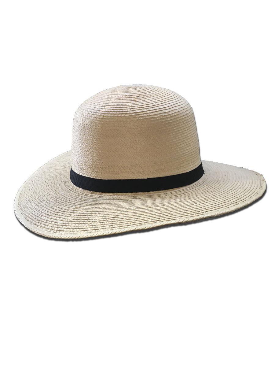 """Palm Leaf Hat 4"""" Brim Hat"""