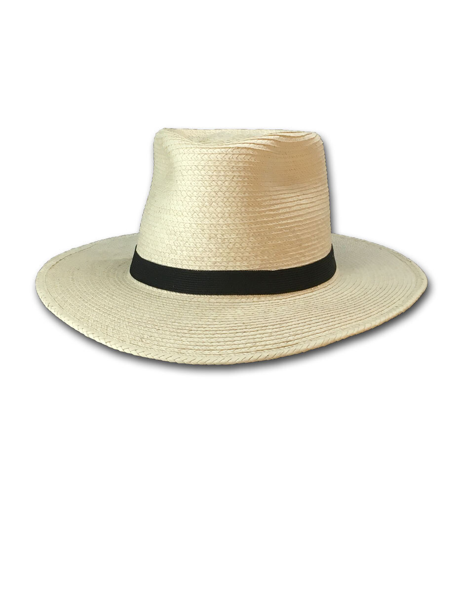 Palm Leaf Fedora Hat