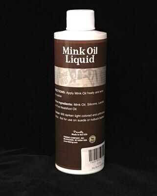 Liquid Mink Oil - 8oz
