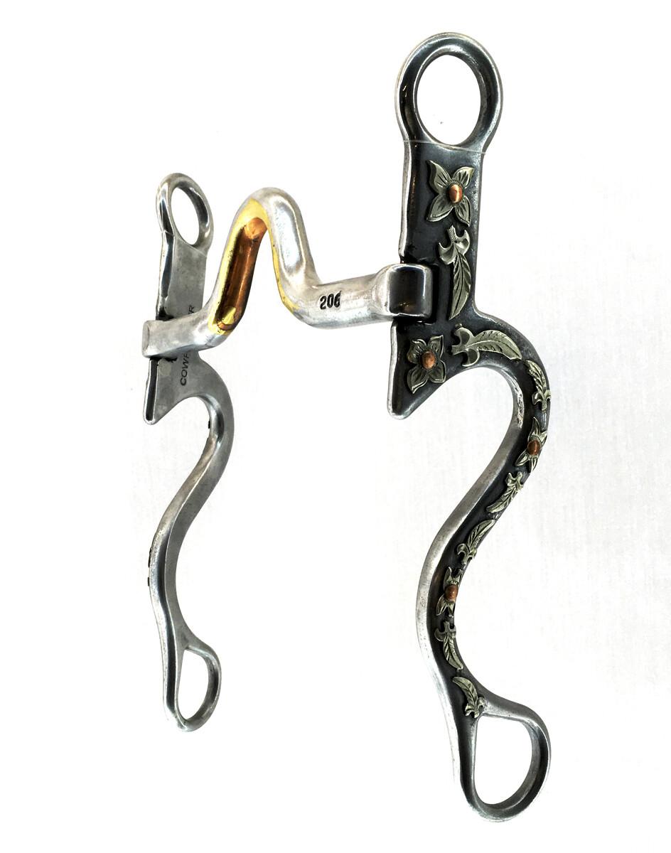 Medium/High Port Silver Mounted CP206