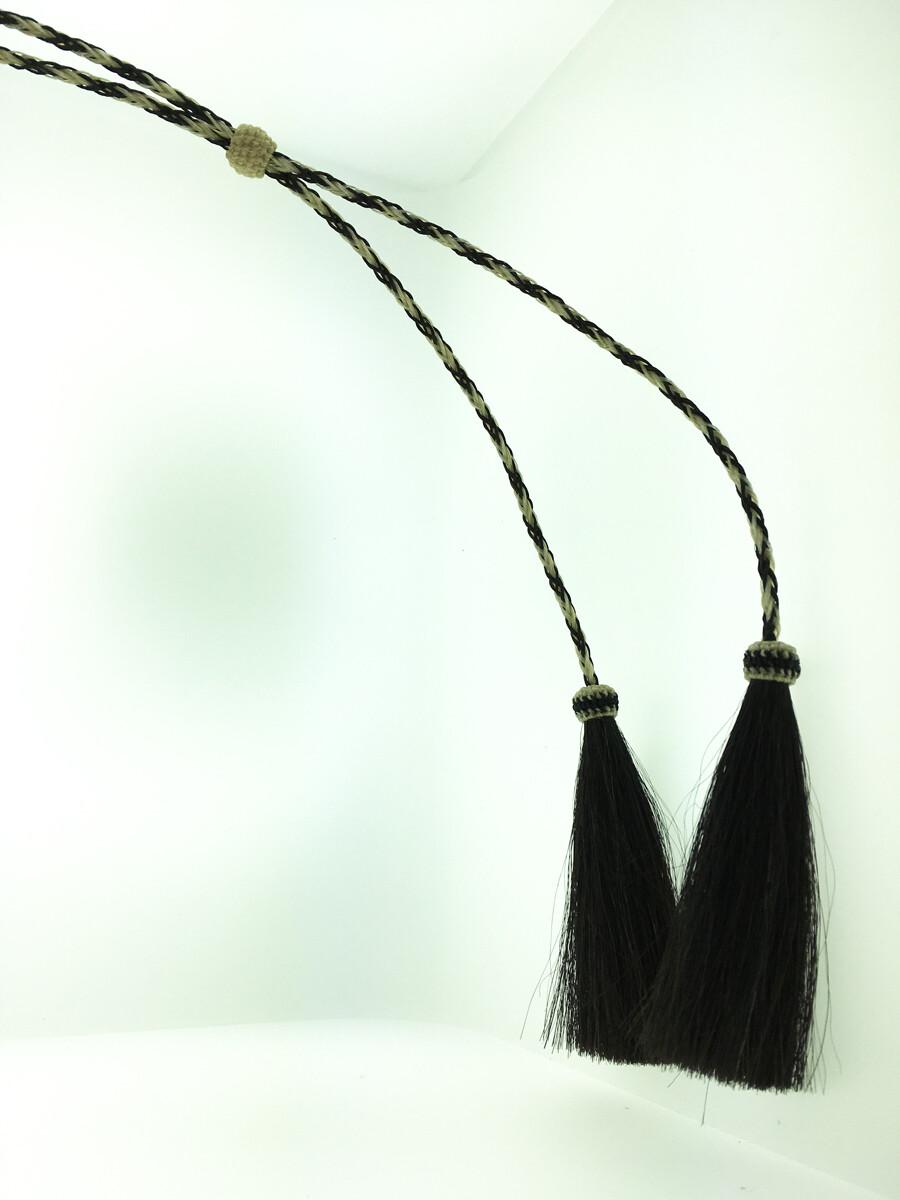 Natural & Black Horsehair Stampede String