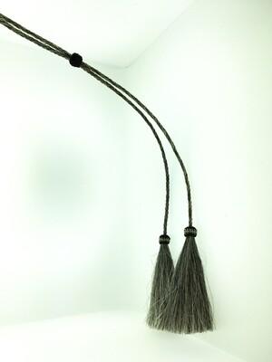 Salt & Pepper Horsehair Stampede String