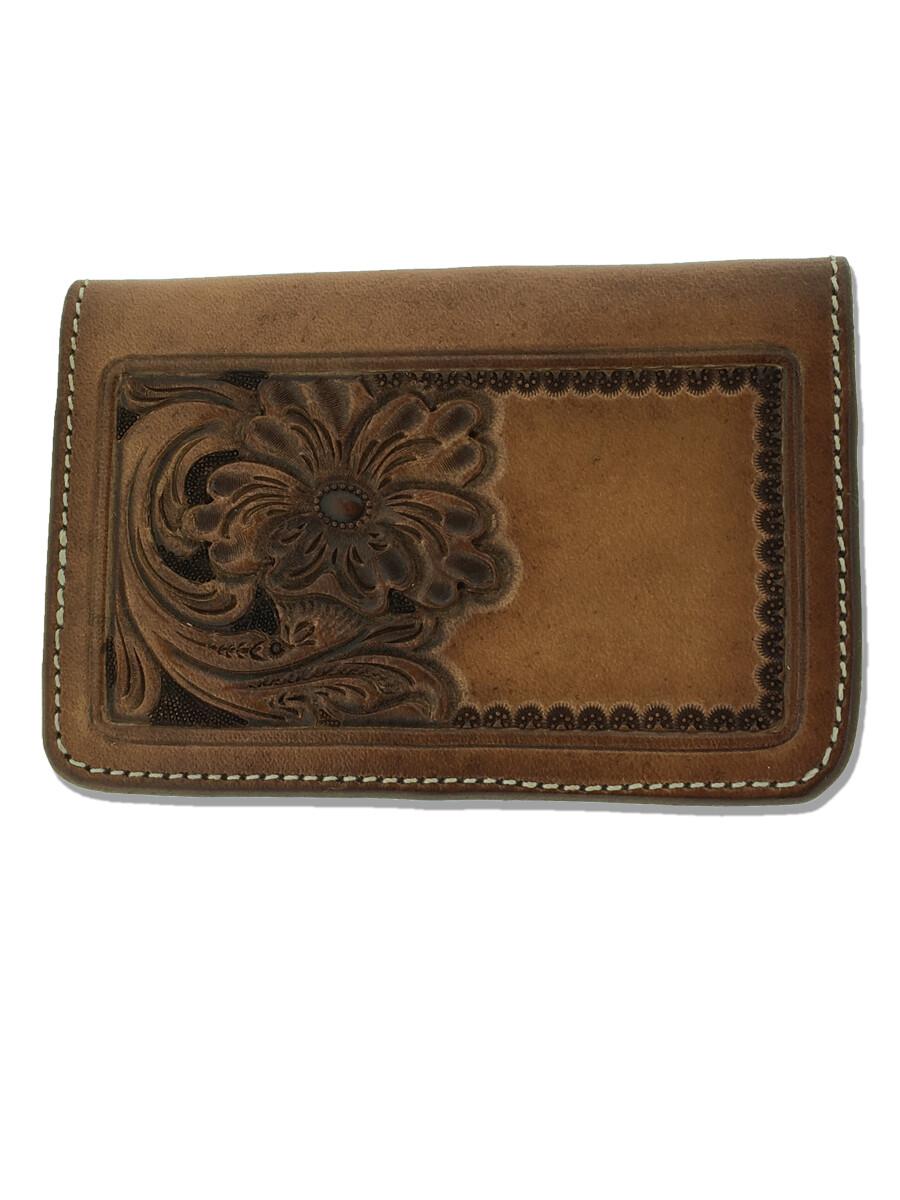 Credit Card Holder Corner Carved