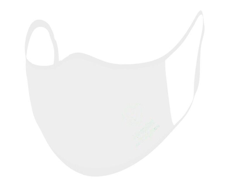 Die Maske, die den Virus SARS-CoV-2 inaktiviert!  WEIß - Niveau 2 - professioneller Gebrauch - Einheitsgröße für Erwachsene - Logoaufdruck ab 100 Stück - OEKO-TEX ® STANDARD 100