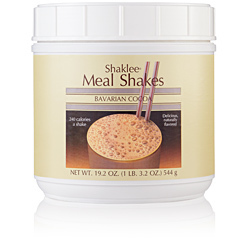 Shaklee Meal Shakes, Baverian Cocoa Label
