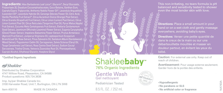 Shakleebaby Gentle Wash