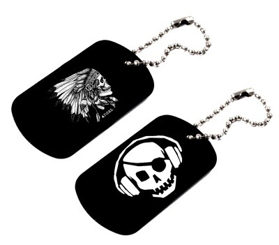 Dog Tags with D.O.A. logo
