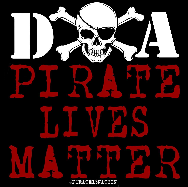 DOA Pirate Lives Matter Sticker.