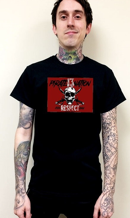 Pirate 13 Nation Official T-shirt