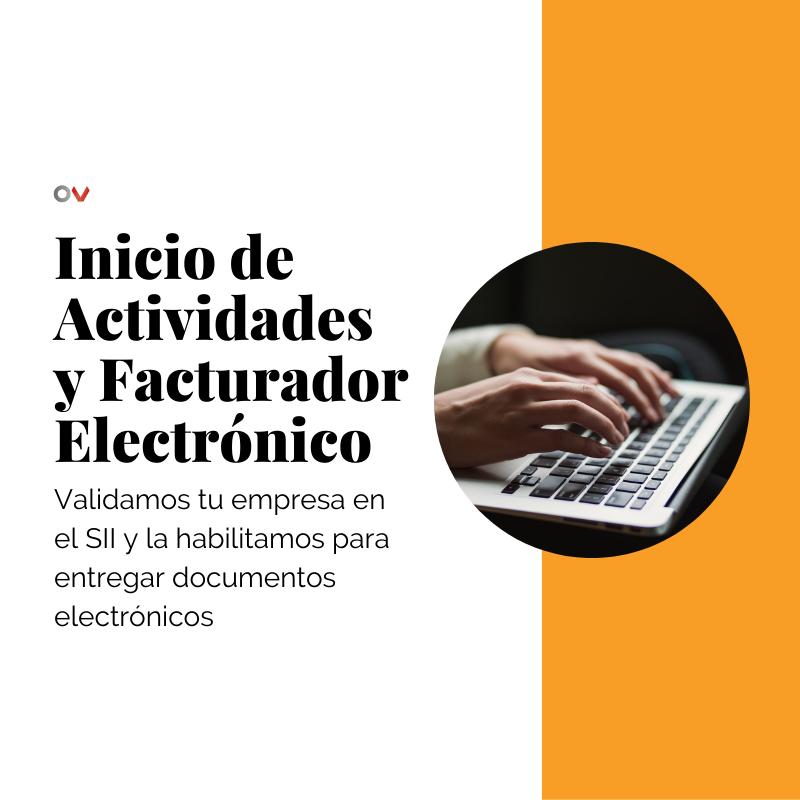 Inicio de Actividades y Facturador Electrónico