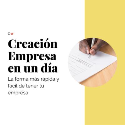 Creación Empresa en un Día