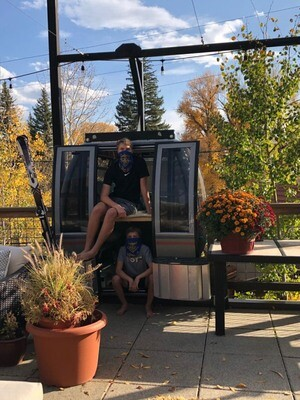 Steamboat Resort Gondola Car