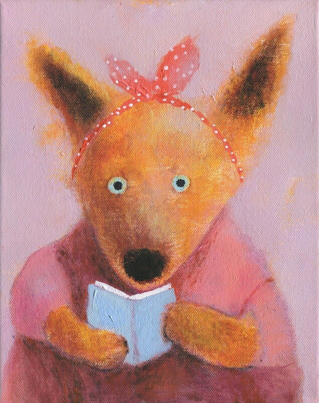 Fox with a Book