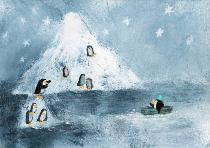 Island with Penguins