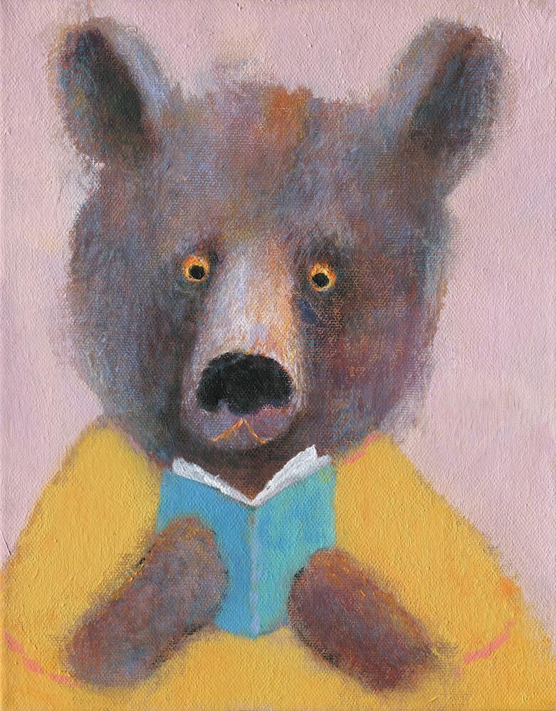Bear with a Book – Original