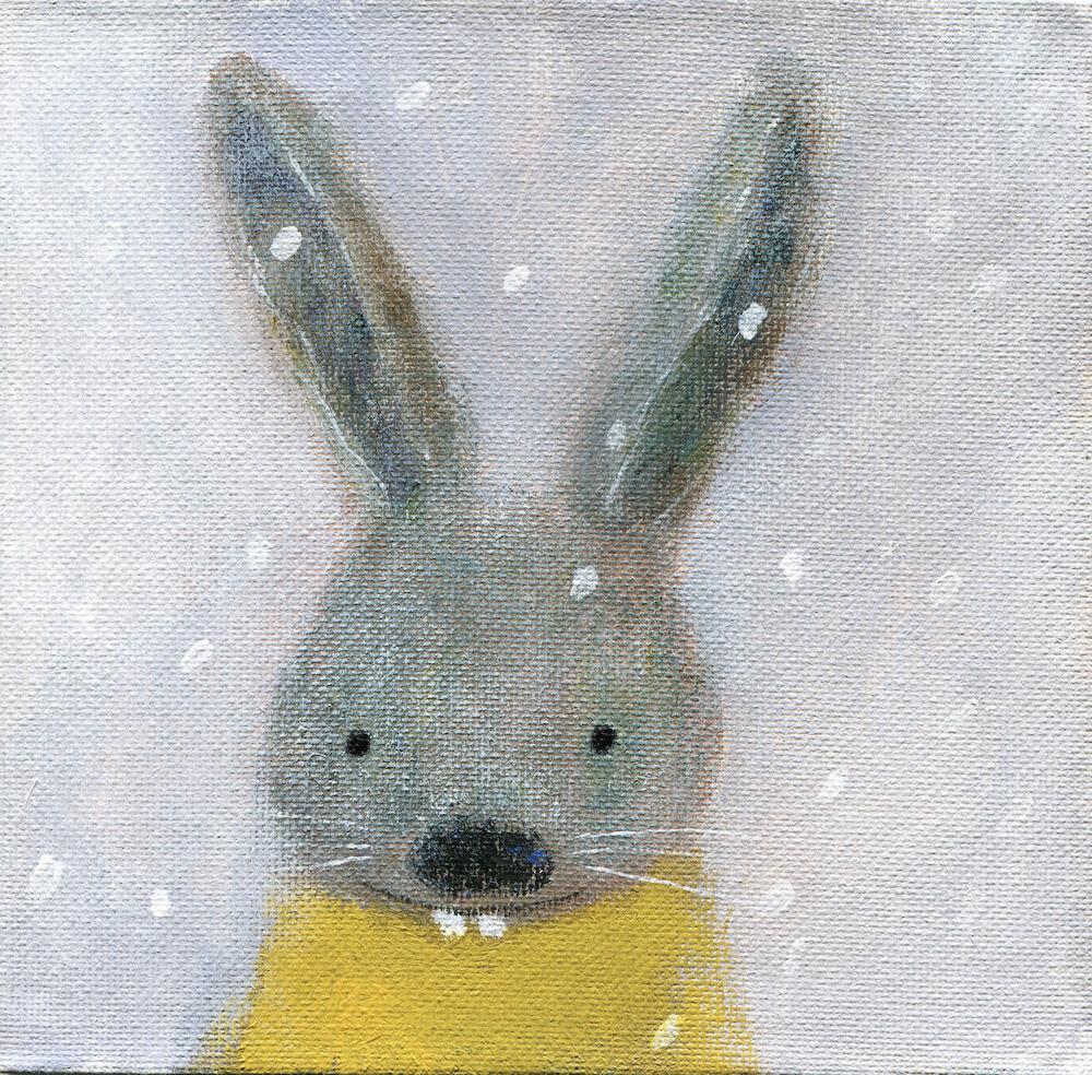 Grey Rabbit – Original