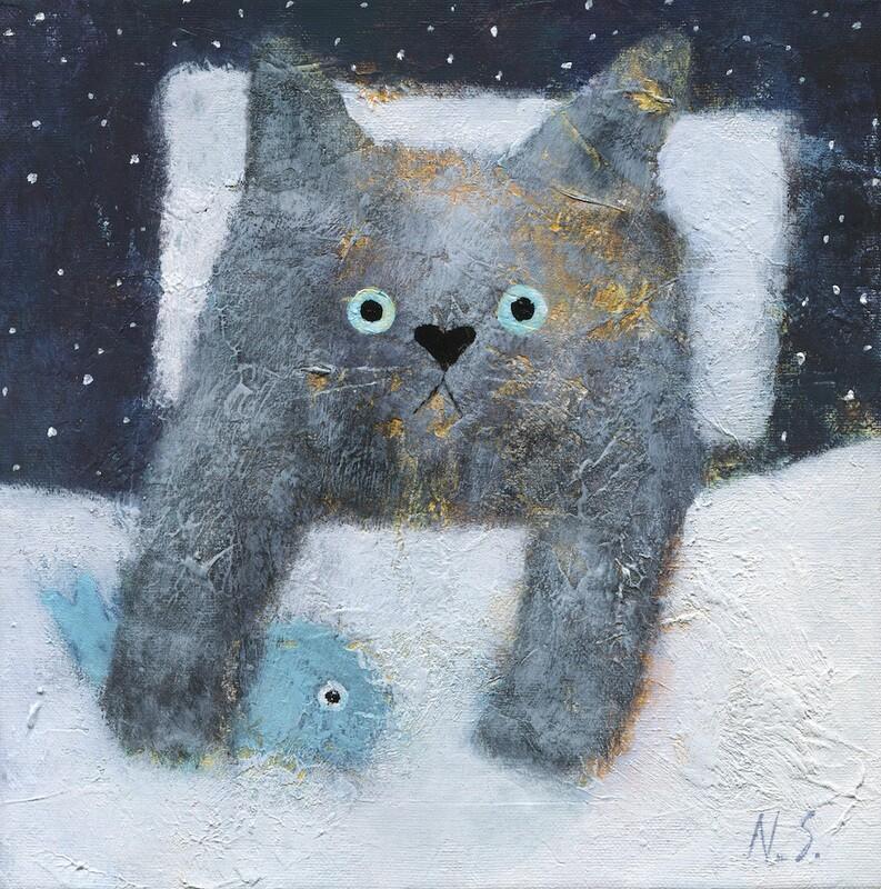 Night Cat – Original