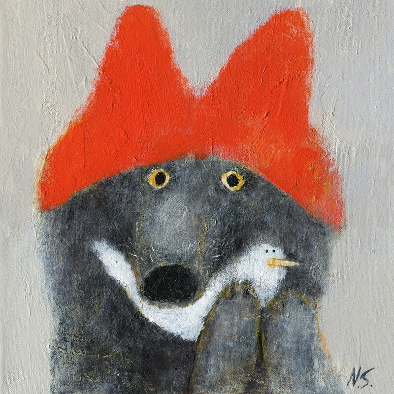 Wolf in a Red Hat