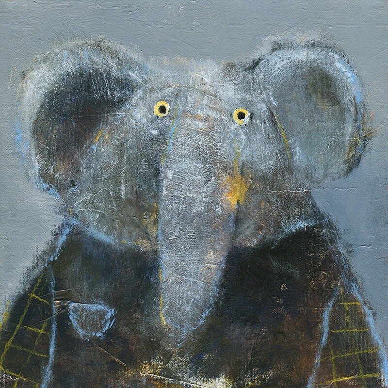 Elephant in a T-Shirt