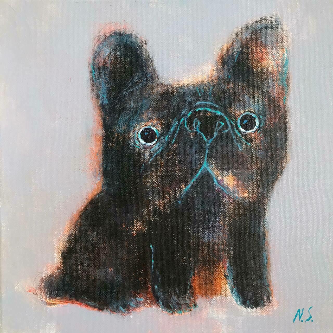 Little Black Bulldog – Original