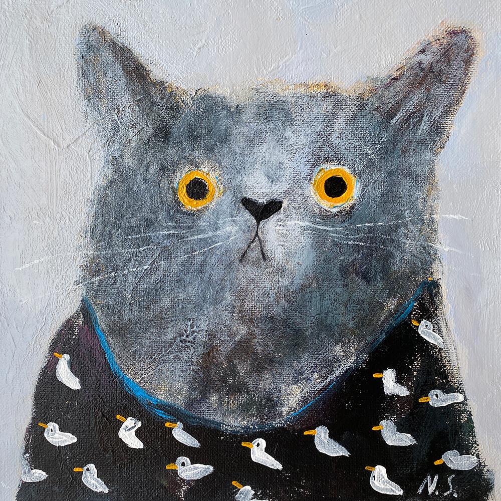 Cat in the Duck T-shirt – Original
