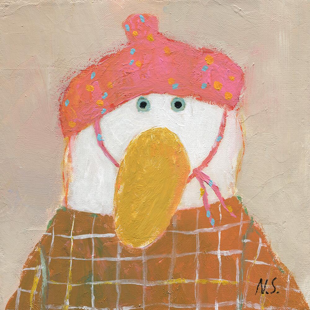 Pink Hat – Original