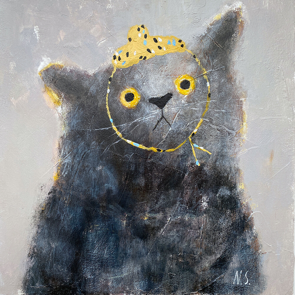 Fluffy Cat – Original