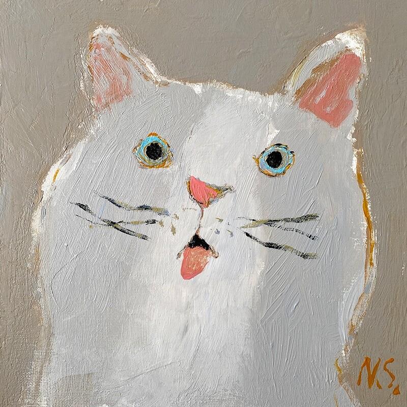 Surprised Cat – Original