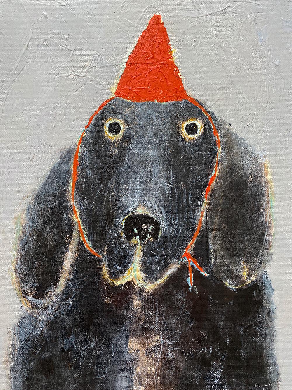 Friend in the Red Hat – Original