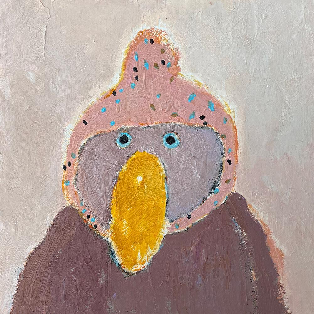 Very Serious Bird – Original