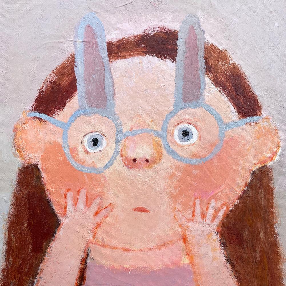 Rabbit Glasses – Original
