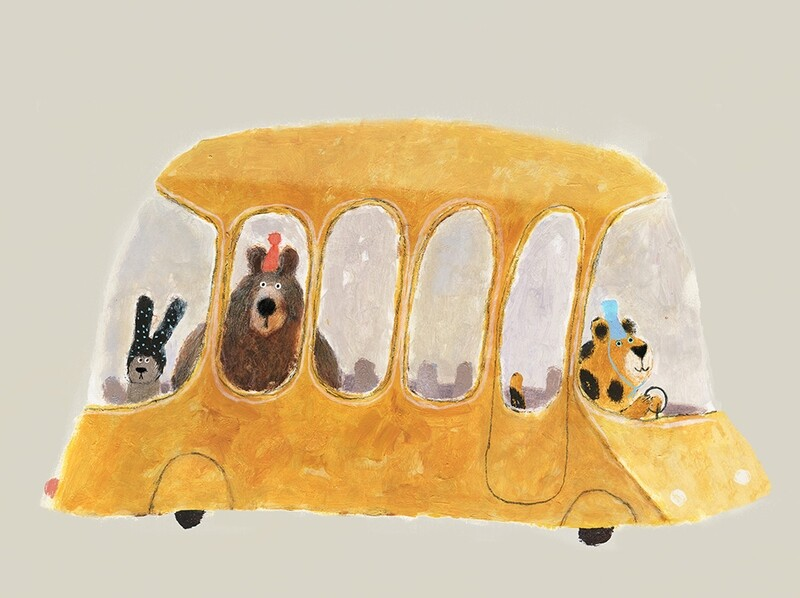 Animals in the Bus