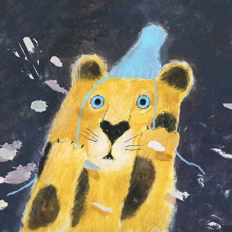 Leopard Surprised