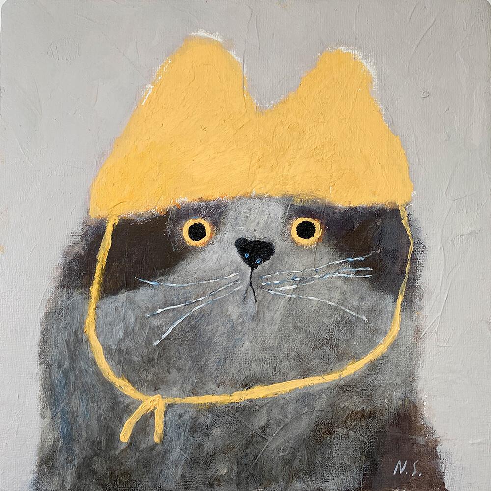 A Spotty Cat – Original