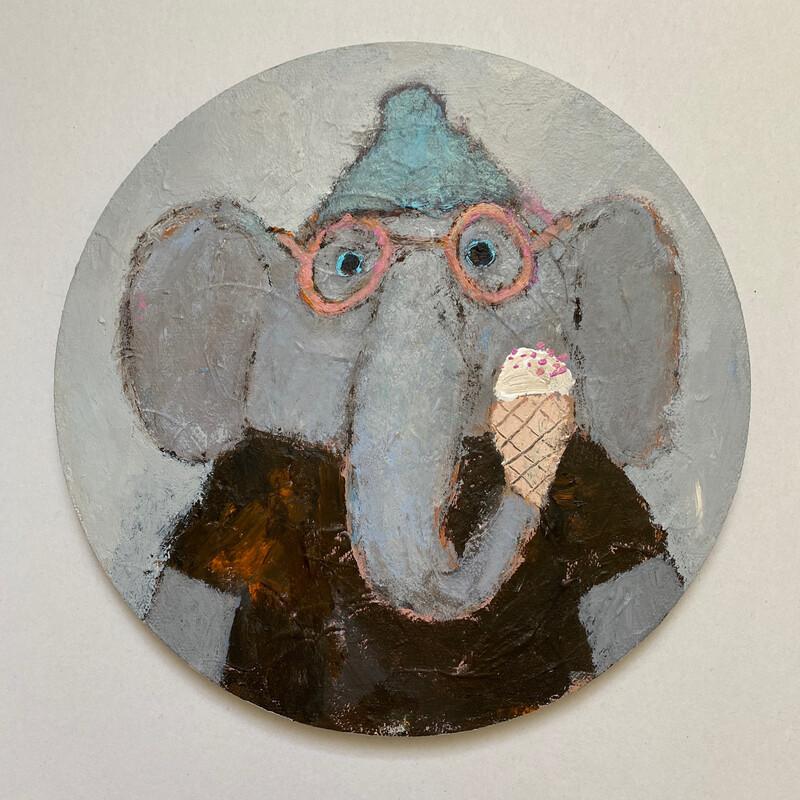 Icecream For an Elephant – Original