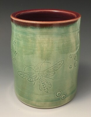 Dragonfly Cup in Green