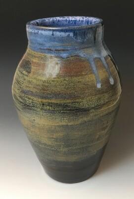 Jasper and Blue Vase