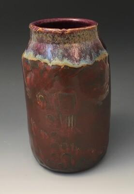 Small/Medium Jasper and Merlot Vase