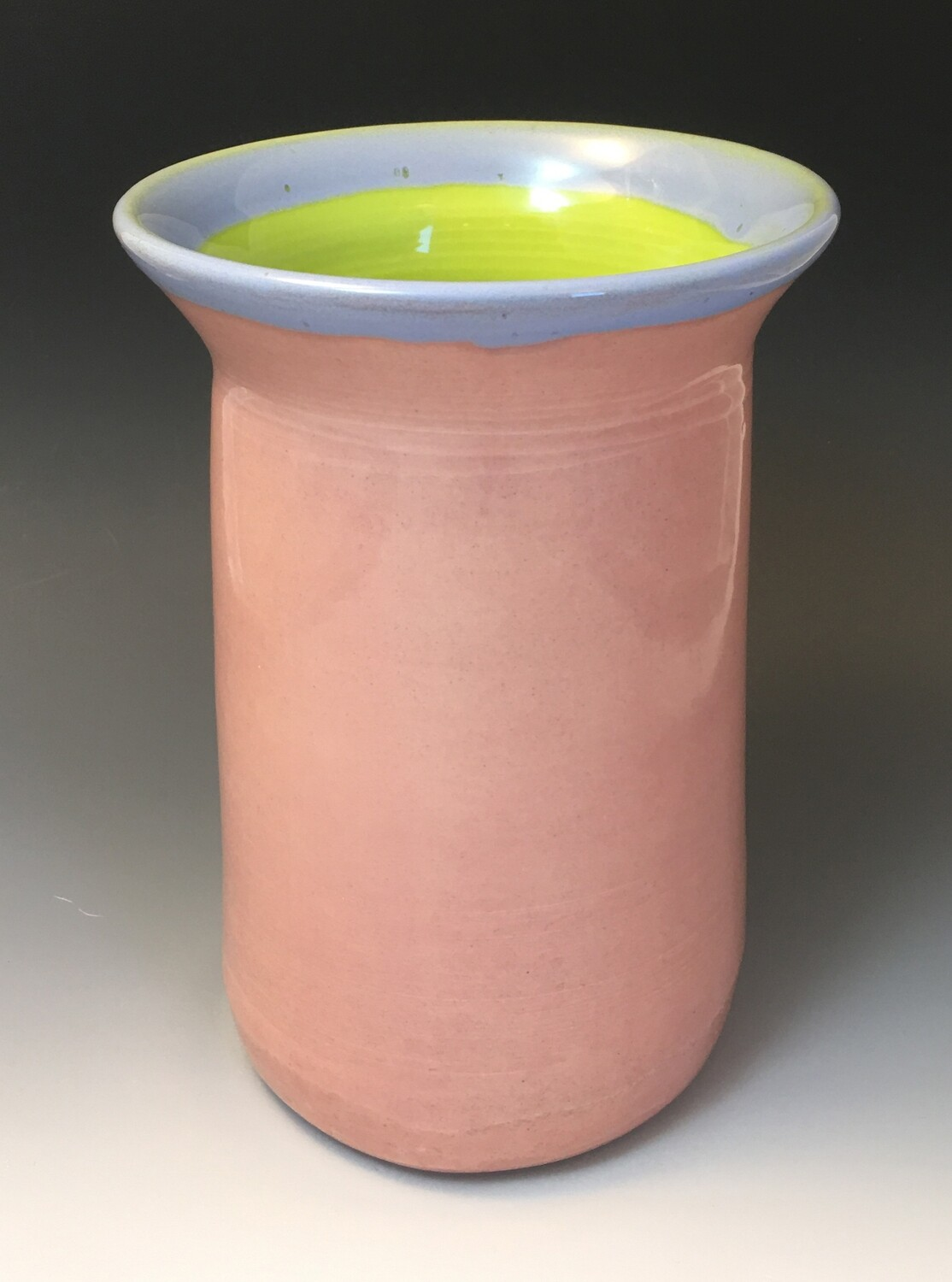 Pink and Pear Vase