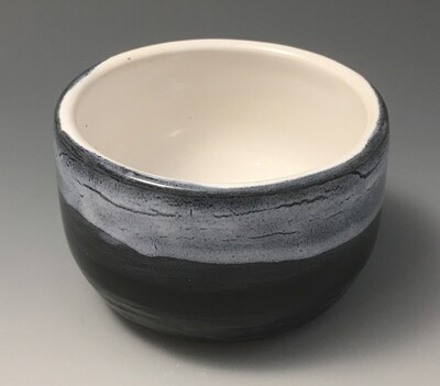 Black and White, Small Tea Bowl.