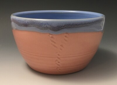 Pink and Blue Bowl.