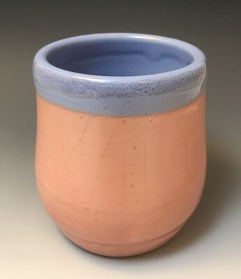 Pink and Blue Cup.