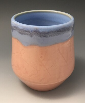 Pink and Blue Cup