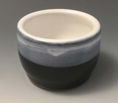 Black and White Small Tea Bowl.