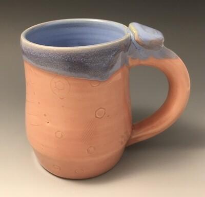 Pink and Blue Mug.