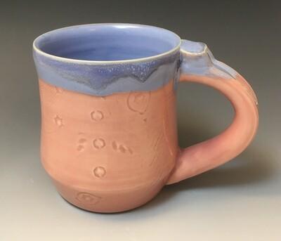 Pink and Blue Mug