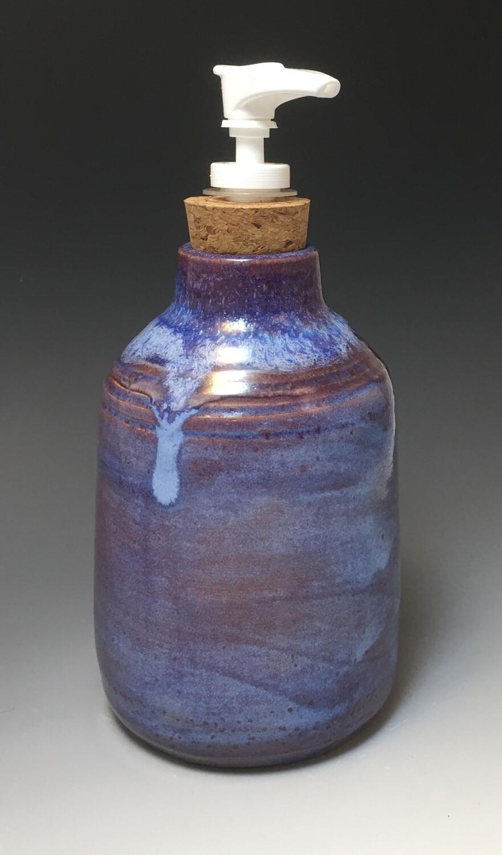 Bottle, Dispenser in Blues